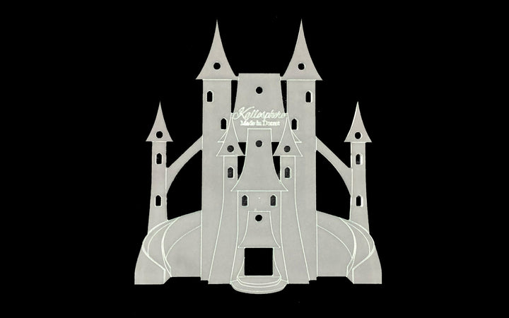 A FAIRY CASTLE ACRYLIC SEWING/CRAFT TEMPLATES