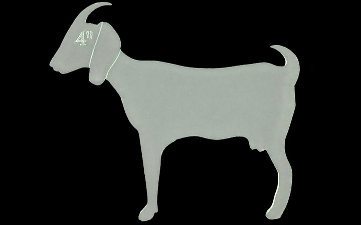 A NUBIAN GOAT SEWING/CRAFT TEMPLATE FROM 3""