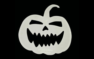 AN ACRYLIC SCARY PUMPKIN SEWING/CRAFT TEMPLATE from 4""