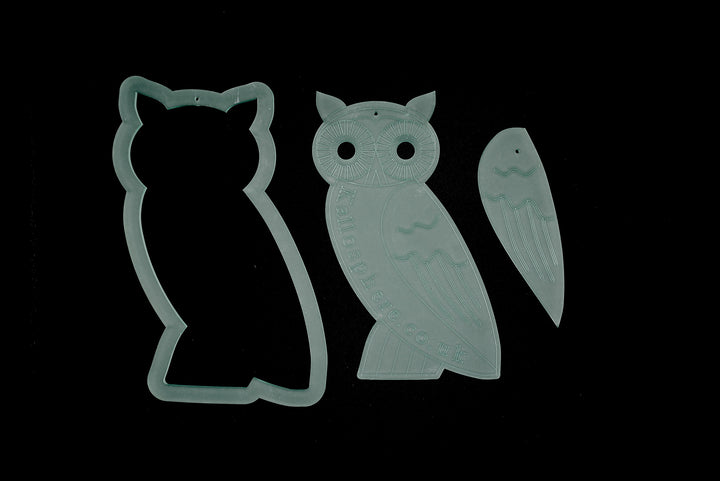 AN OUTSTANDING OWL ACRYLIC SEWING CRAFT TEMPLATE