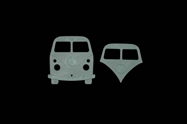 MINI CAMPERVAN FRONT CRAFT TEMPLATE