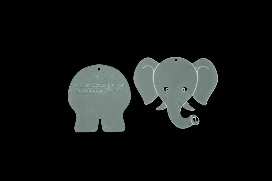 A FUN ELEPHANT SEWING/CRAFT TEMPLATE