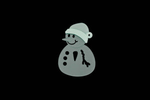 A JOLLY SNOWMAN ACRYLIC SEWING/CRAFT TEMPLATE
