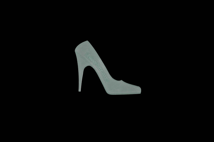 A HIGH HEEL ACRYLIC/CRAFT TEMPLATE from 3""