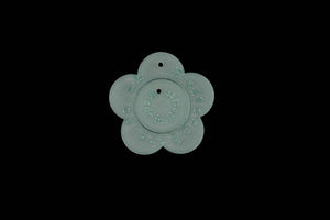 A MINI FLOWER SEWING CRAFT TEMPLATE