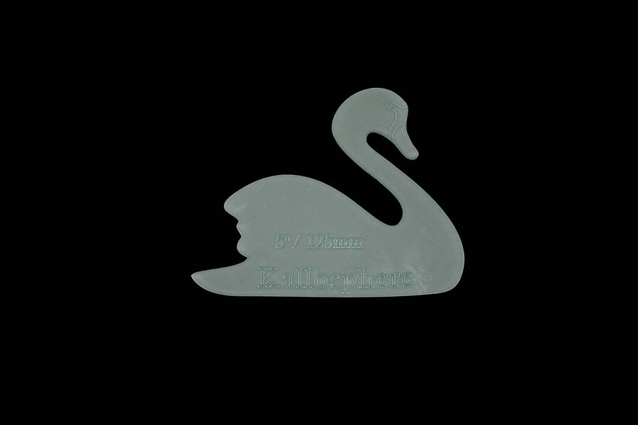 AN ELEGANT SWAN ACRYLIC SEWING CRAFT TEMPLATE