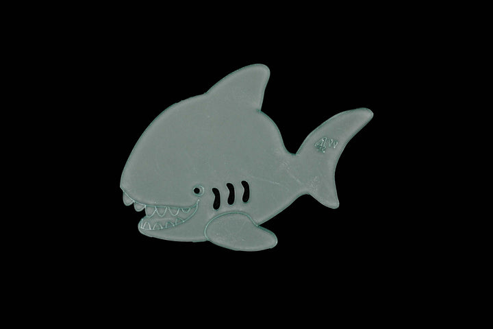 A CHEEKY SHARK ACRYLIC SEWING/CRAFT TEMPLATE from 3""