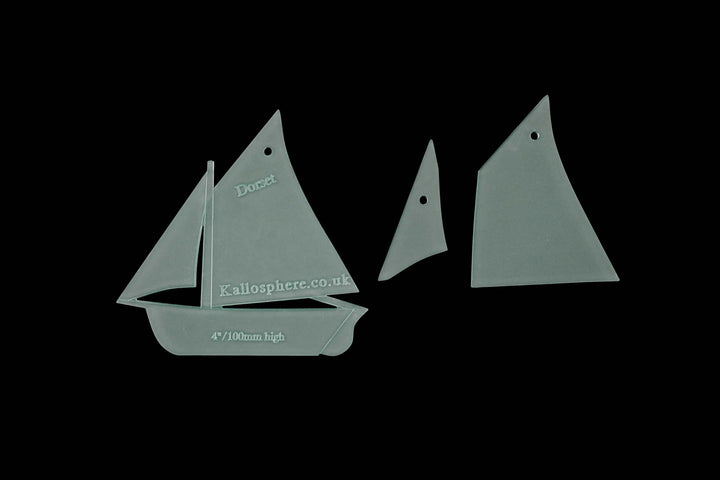 TRADITIONAL BOAT SEWING CRAFT TEMPLATES