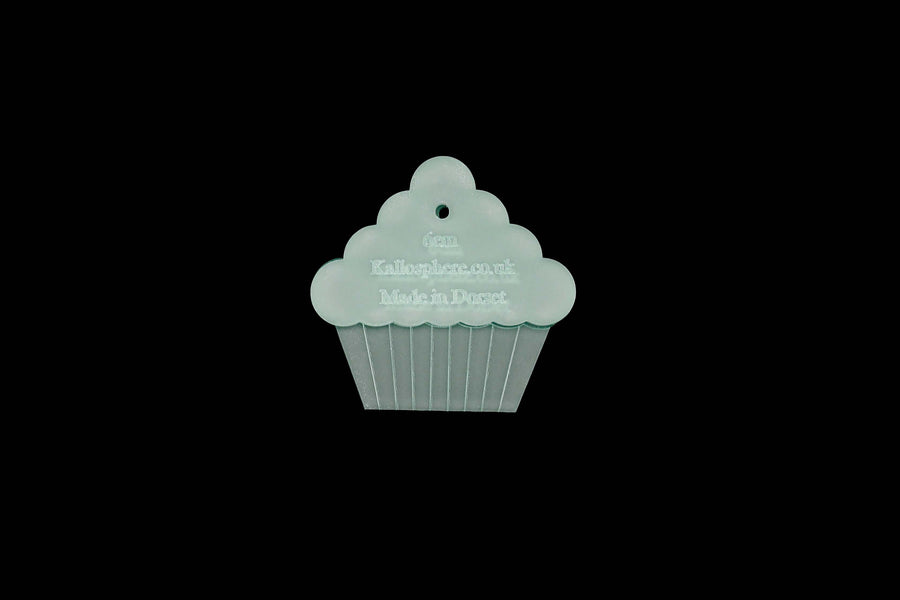A TASTY LOOKING MINI CUPCAKE ACRYLIC SEWING CRAFT TEMPLATE