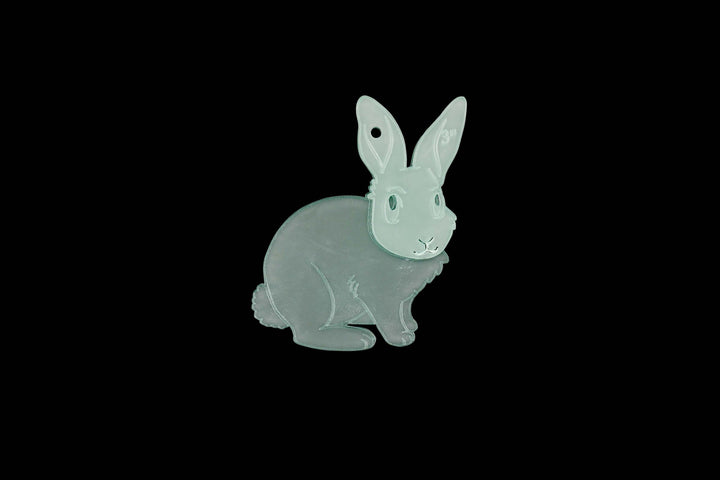 A RABBIT ACRYLIC SEWING/CRAFT TEMPLATE from 6cm