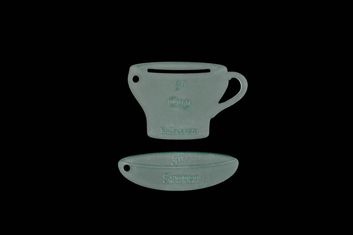 ACRYLIC TEACUP TEMPLATE