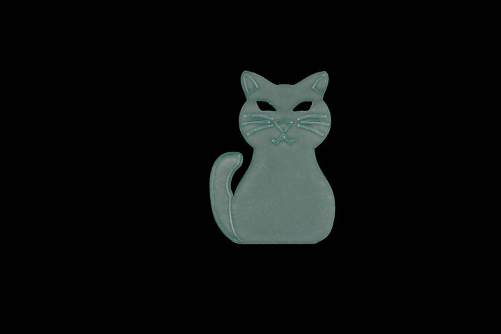 A CLEVER CAT ACRYLIC SEWING/CRAFT TEMPLATE from 6cm