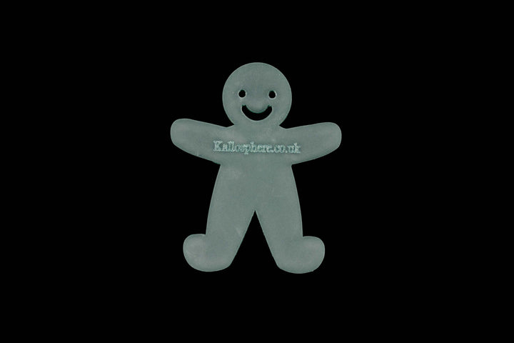A MINI GINGERBREAD MAN ACRYLIC SEWING/CRAFT TEMPLATE