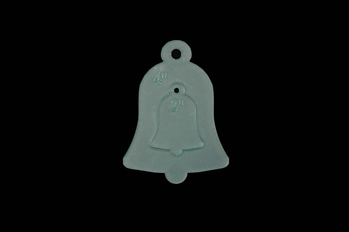 A CHRISTMAS BELL ACRYLIC SEWING CRAFT STENCIL