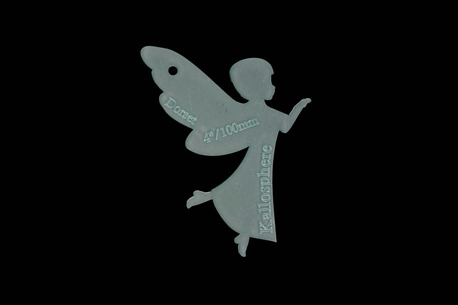 ANGEL ACRYLIC SEWING CRAFT TEMPLATE FOR APPLIQUÉ
