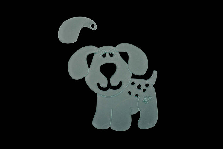 A CUTE PUPPY DOG SEWING/CRAFT TEMPLATE