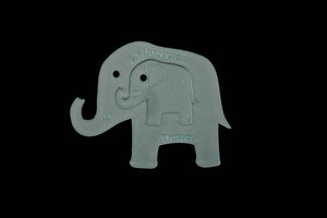 A GORGEOUS DUO OF ELEPHANTS ACRYLIC SEWING/CRAFT TEMPLATES (11CM X 9CM)