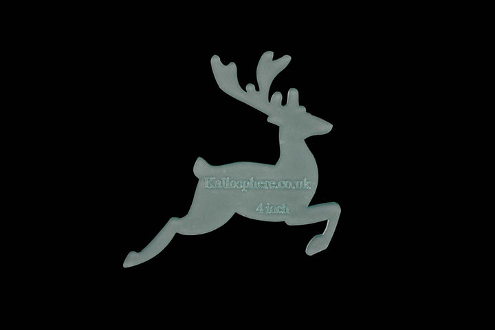 A LEAPING DEER ACRYLIC SEWING/CRAFT TEMPLATE from 4""