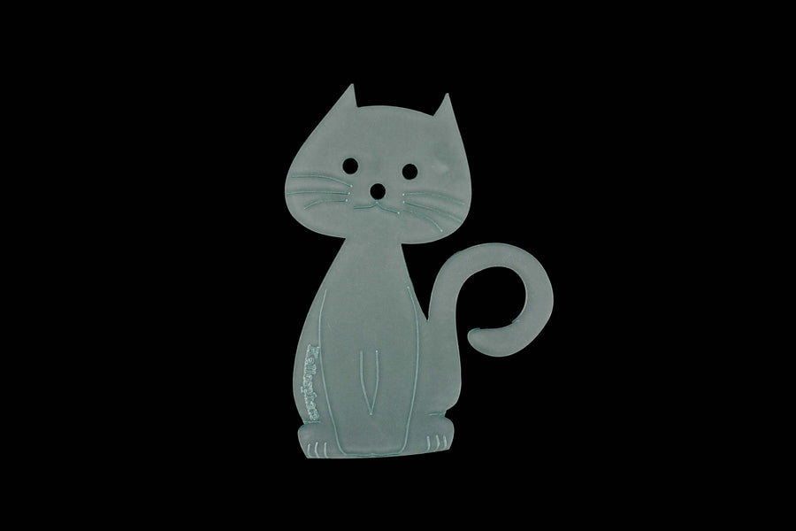 A CUTE ACRYLIC CAT SEWING/CRAFT TEMPLATE from 3""