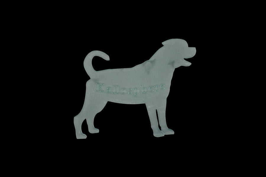 A ROTTWEILER  ACRYLIC SEWING/CRAFT TEMPLATE