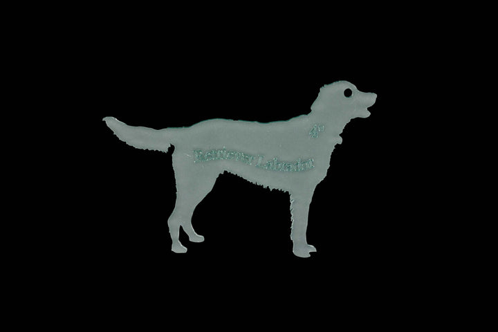 LABRADOR RETRIEVER ACRYLIC SEWING CRAFT TEMPLATE