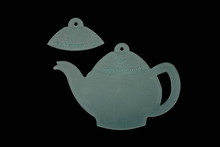 AN ACRYLIC TEAPOT CRAFT SEWING TEMPLATE