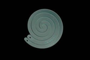 "4"" & 5"" SPIRAL ACRYLIC SEWING/CRAFT TEMPLATE"