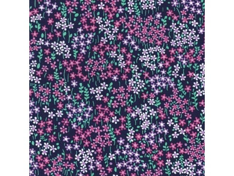 MICHAEL MILLER FABRIC - BITTY FLORAL - MIDNIGHT