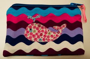 A FUN WHALE ACRYLIC SEWING/CRAFT TEMPLATES