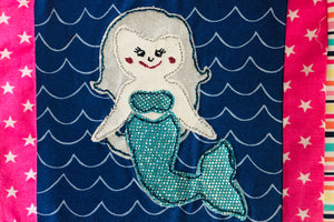 A MERMAID ACRYLIC SEWING/CRAFT TEMPLATE