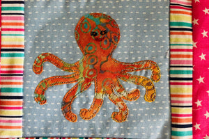 A OCTOPUS ACRYLIC SEWING/CRAFT TEMPLATE