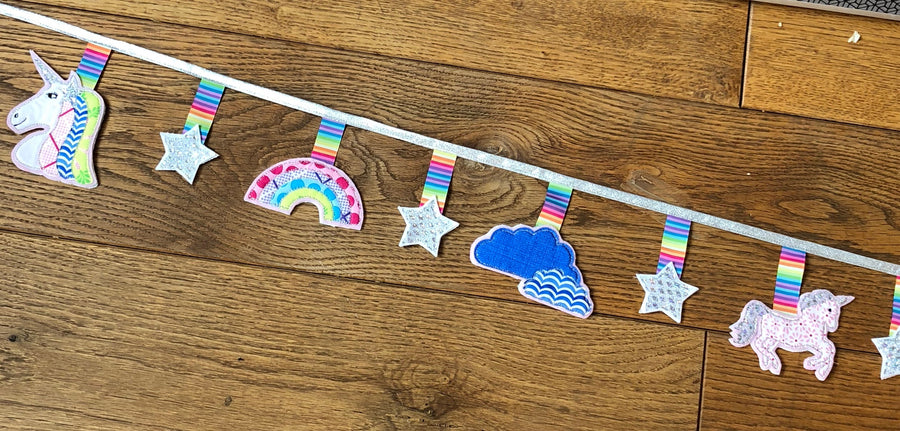 A UNICORN SEWING/CRAFT TEMPLATE