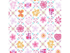 MICHAEL MILLER FABRIC - ROYAL SAMPLER - BRITE