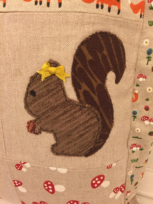 SQUIRREL ACRYLIC SEWING CRAFT TEMPLATE