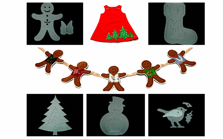 CHRISTMAS ACRYLIC TEMPLATE BUNDLE