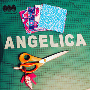 APPLIQUÉ LETTERS AND SYMBOLS SEWING/CRAFT TEMPLATES - from 4cm