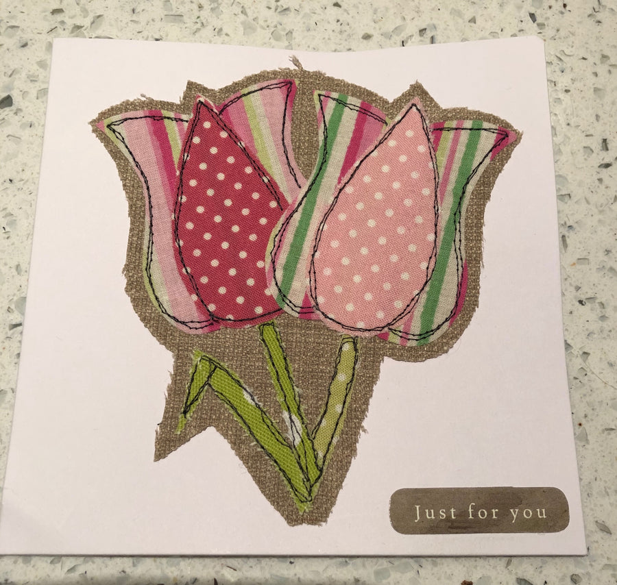A TULIP  ACRYLIC SEWING/CRAFT TEMPLATE