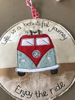 CAMPERVAN ACRYLIC CRAFT TEMPLATE