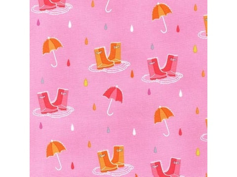 MICHAEL MILLER FABRIC - SPLISH SPLASH - PINK AND BREEZE