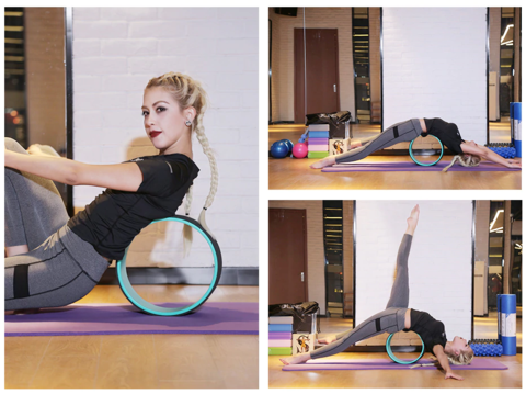 back training yoga wheel