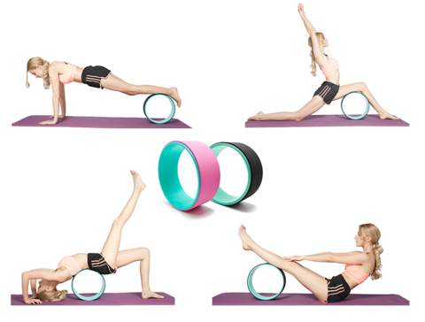 Yoga Wheel exercise