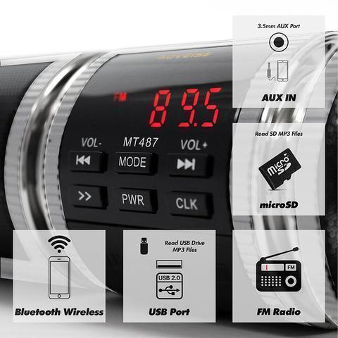 Motorcycle Bluetooth Speaker Radio And Stereo System