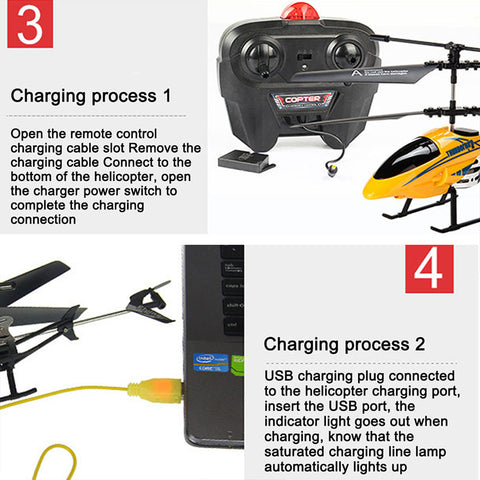 RC Remote Control Flying Helicopter Toy With Camera