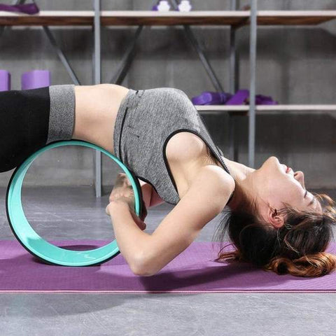 Yoga Wheel Back Training For Beginners And Professionals