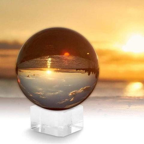 Crystal Lensball Glass Camera Photography Sphere