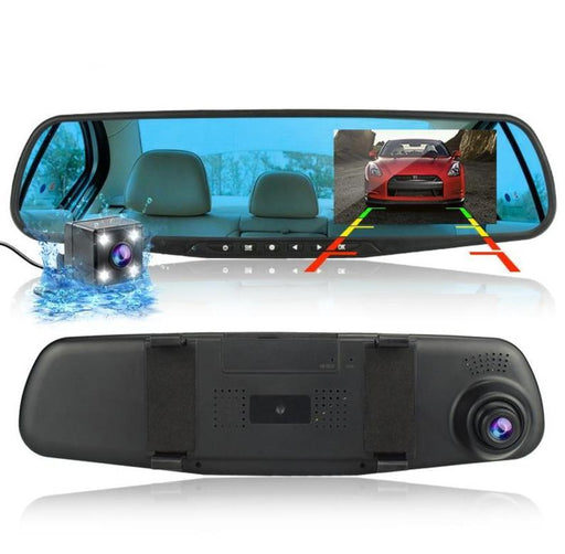 Front and Rear Dual Lens Dash Cam Recorder