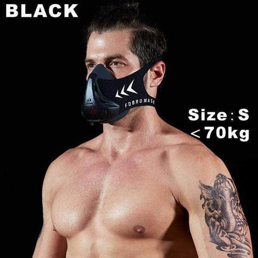 man black workout mask