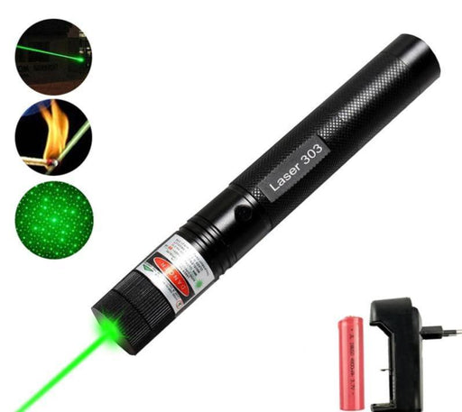 Military Tactical Green Burning Laser Pointer