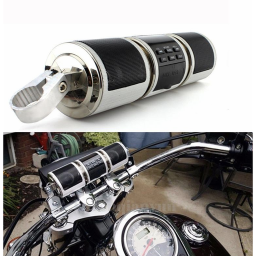 Motorcycle Bike Radio Stereo System Bluetooth Speaker