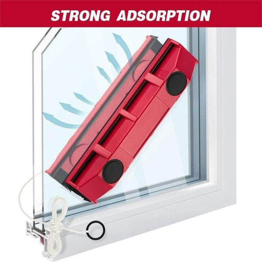 magnetic window glider cleaner on double sided windows